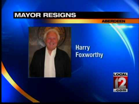 Mayor of Aberdeen resigns