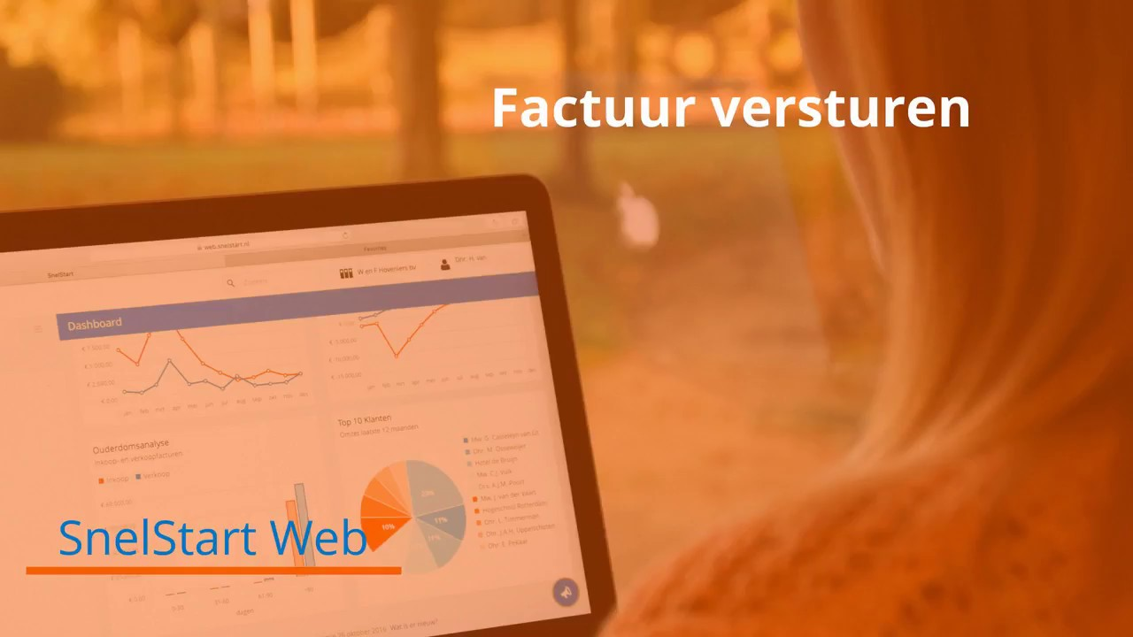Factuur versturen in SnelStart Web   YouTube