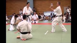 2012年10月7日に行われた、岐阜県大会での演武の模様.