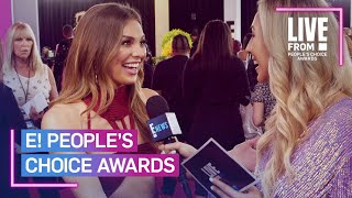 Hannah Brown Ran Into Tyler Cameron & His Mom at PCAs | E! People's Choice Awards