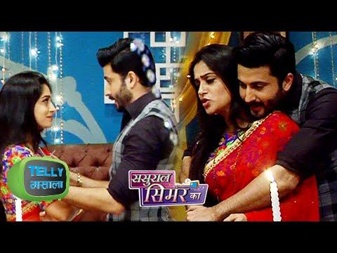 OMG! Prem Simar ROMANCE in BEDROOM   Sasural Simar Ka   Colors   On Location