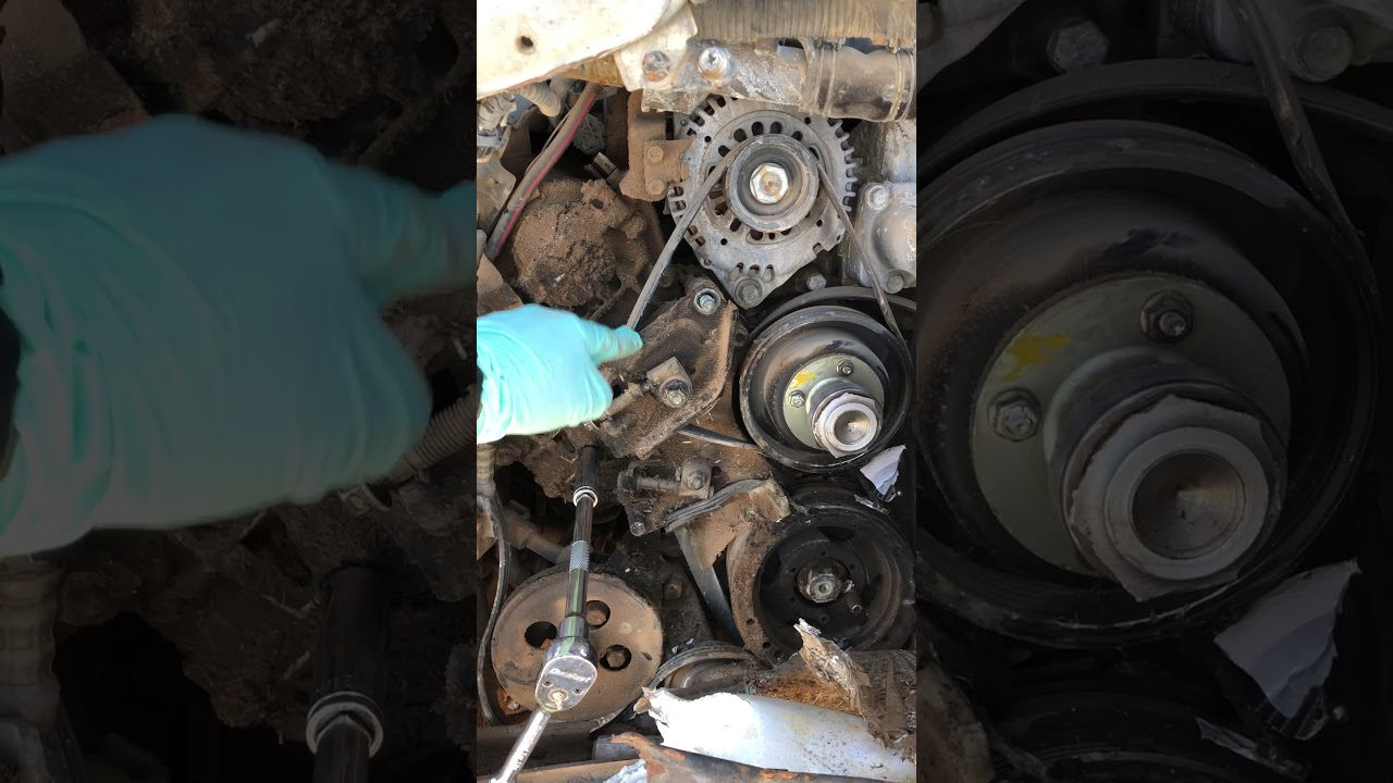 Q45 Alternator Wiring Diagram Infinity G35 Replacment 1992 Infiniti Belt Tensioner Pulley