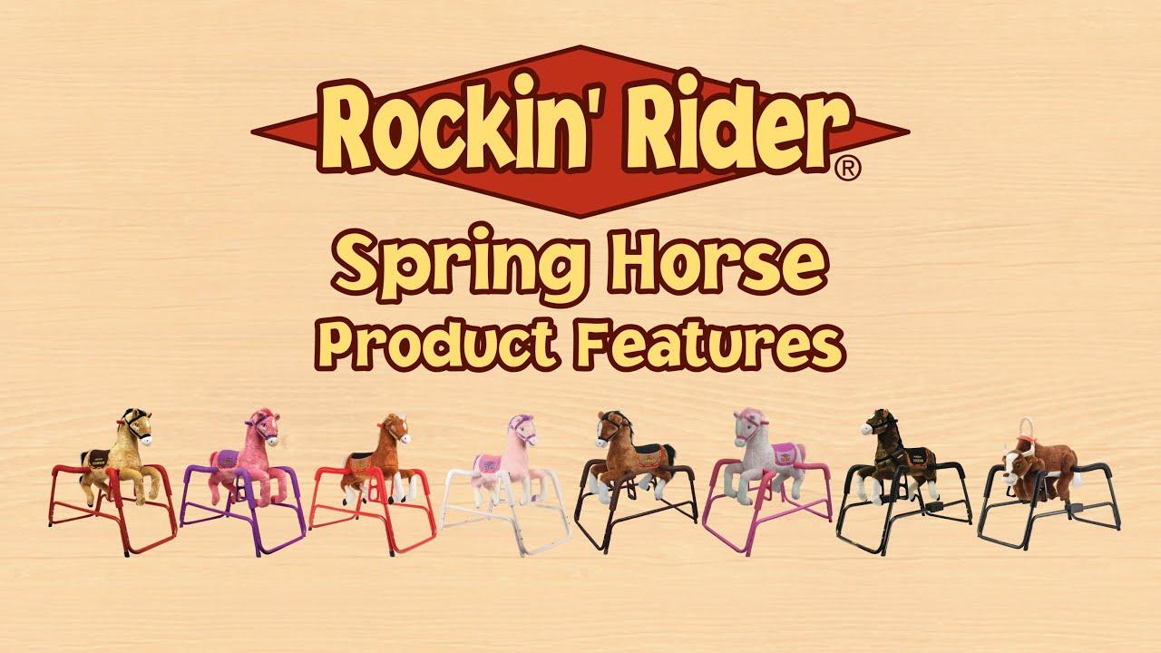 Rockin\' Rider Spring Horse - YouTube