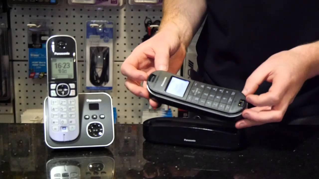 Panasonic DECT Phone Pairing, How to Video  (Register Handset)