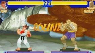 STREET FIGHTER ALPHA (ARCADE CPS2) 1CC RYU NO DEATH RUN PLAYTHROUGH (FULL GAMEPLAY)