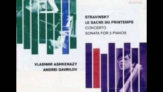 Stravinsky Le Sacre du Printemps - Dance of the Earth.
