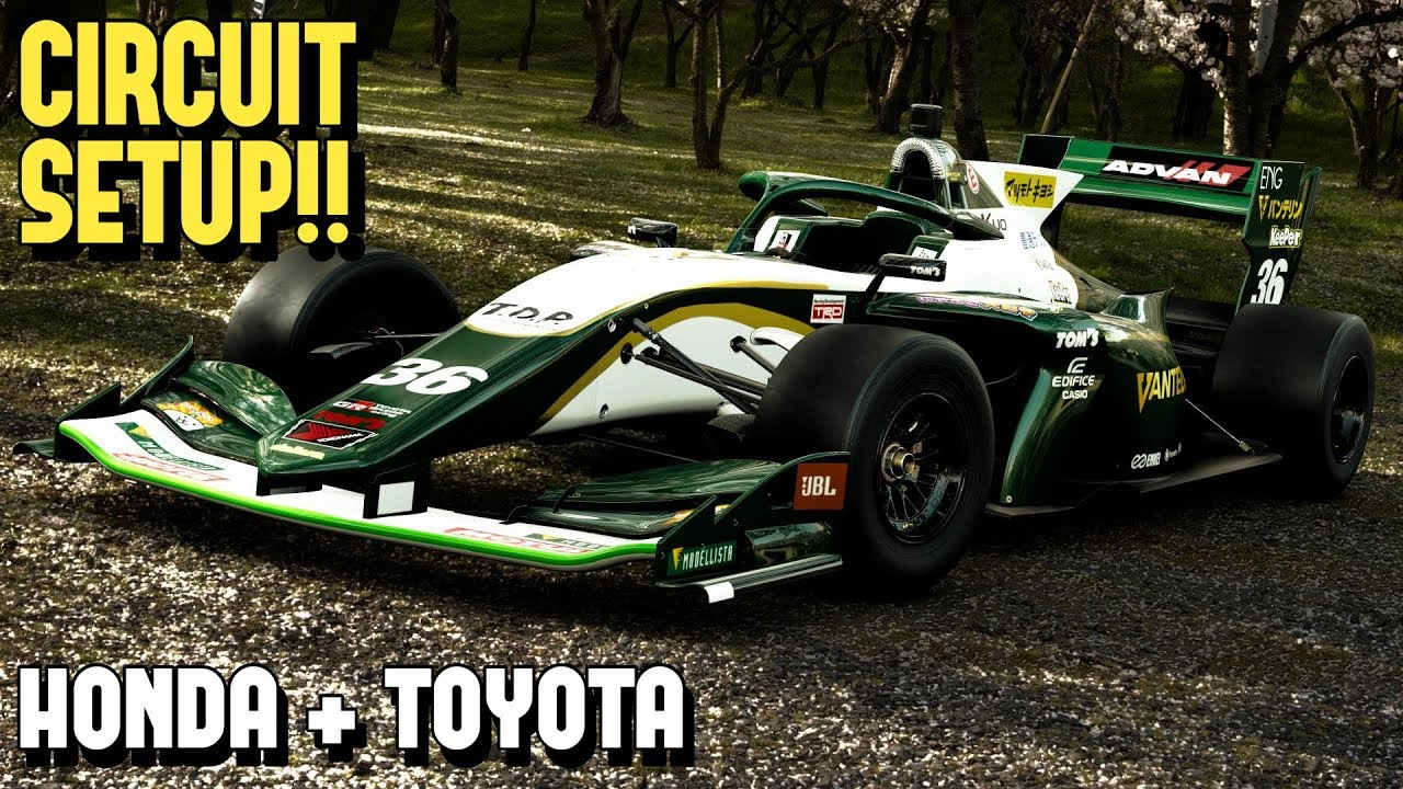 Gt Sport Dallara Sf19 Honda Toyota Circuit Setup Youtube
