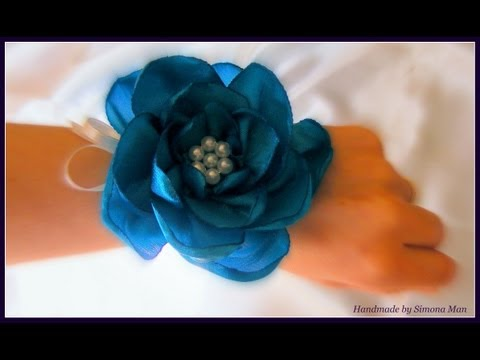 Accesories with handmade flowers for themed weddings / Accesorii pentru nunti tematice