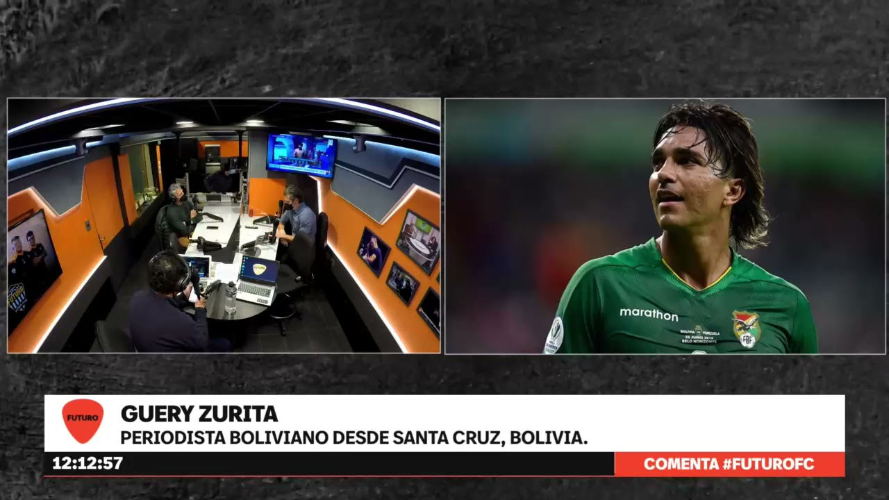 "Periodista Boliviano en Futuro FC: ""Sería un paso adelante de Marcelo Moreno ir a Colo Colo"""