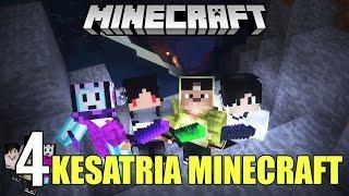 MELAWAN MONSTER BESAR! ft. 4Brothers | Minecraft Adventure Indonesia #4