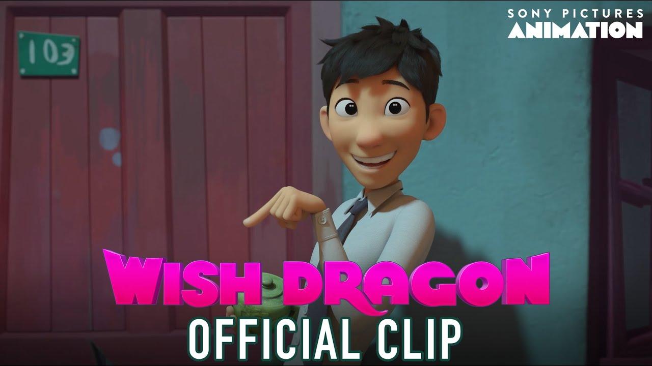 Wish Dragon Clip | I Wish I Could Fight | Sony Animation