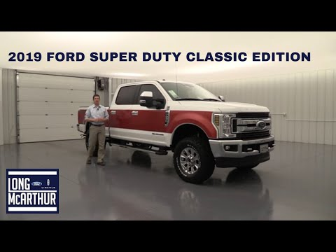 2019 FORD SUPER DUTY CLASSIC EDITION