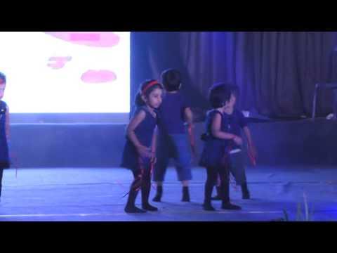 India International School Bangalore :: ANNUAL DAY 2015 - 16 :: Pre K   Orr Jazz Form