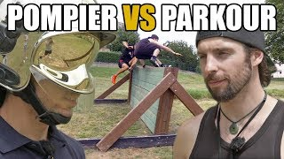 "Course d'obstacles : POMPIER vs PARKOUR (feat. Mathieu André & Yoann ""Zephyr"" Leroux)"