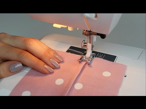 Basic Stitches - How to sew a Flat Felled Seam