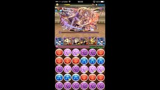 puzzle and dragons challenge dungeons 28 level 10 solo awoken haku pt