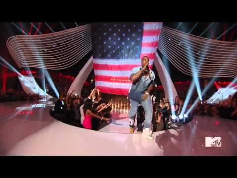 Jay Z & Kanye West   Otis Live @ VMA 2011