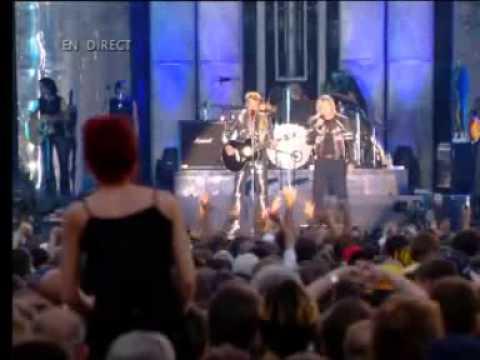 "Johnny Hallyday et Renaud,  ""Quelque chose de Tennessee"" ."