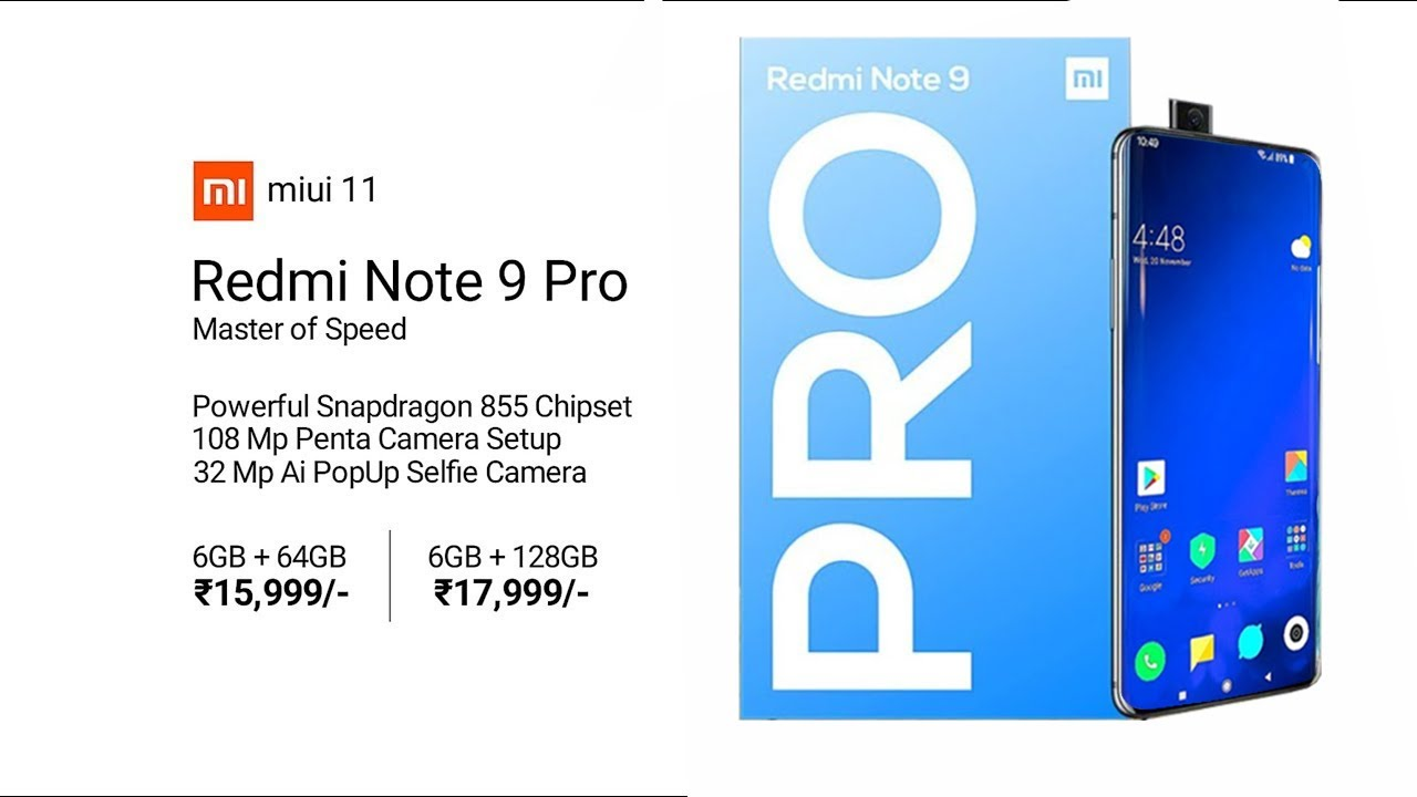 Redmi Note 9 Pro 5g Box 8gb Ram 5000mah Battery 108mp Penta Camera Redmi Note 9 Pro 2020 Youtube