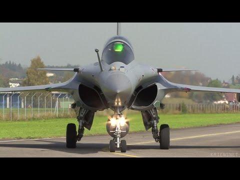 Dassault Rafale Evaluation TTE at Emmen Airbase 2008 Part 1/2