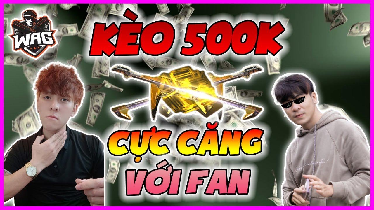 [ Free Fire ] Muốn Lấy 500k Tiền Mặt Của Học Mõm Đâu Có Dễ!!! Solo Với Fan Cực Gắt - Học Mõm