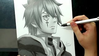 Speed Drawing - Jellal (Fairy Tail)