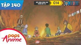 One Piece Tập 140 - Người Dân Ở Miền Đất Vô Danh - Hải Tặc Bí Đỏ - Hoạt Hình Tiếng Việt