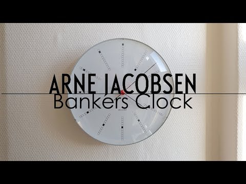 Design Classics | Arne Jacobsen Bankers Clock Review