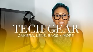 Tech Haul: Camera, Lens, Bags + More