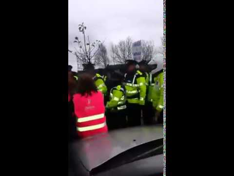 Gardai Heavy Handed Again in Finglas as Higgins Make a Quick Exit