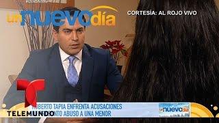 Acusan a Roberto Tapia de abusar sexualmente de una niña | Un Nuevo Día | Telemundo