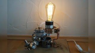 Steampunk Lampe - DIY Industrial Lamp