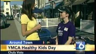 South Bay Family YMCA Healthy Kids Day 2011 on San Diego 6 - 8 AM