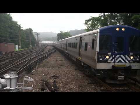 Metro-North Harlem Line Trains at North White Plains