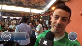 Ireland v Sweeden Dtwo reaction Euro 2016