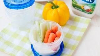 Ranch Veggie Cups: Easy Snack Idea