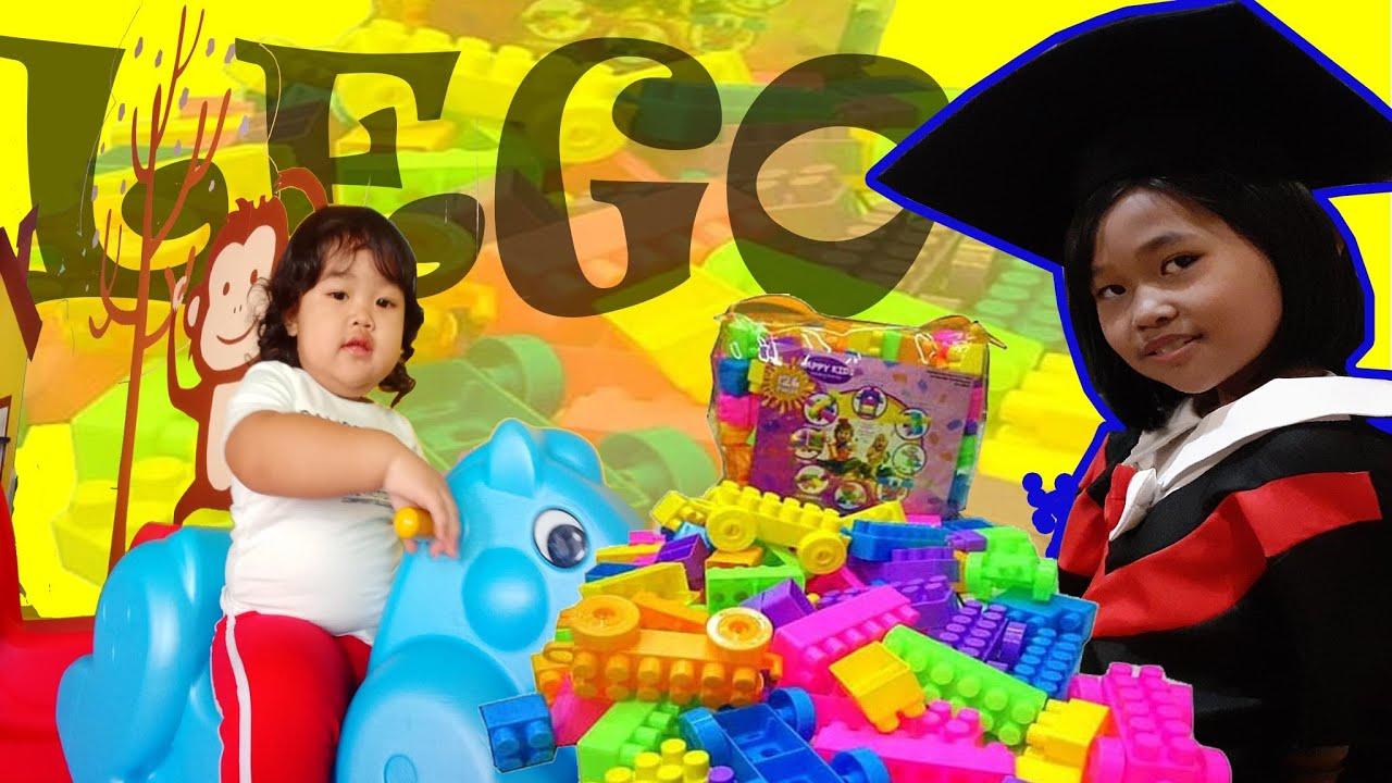 UNBOXING LEGO BALOK SUSUN & BERMAIN #unboxing #lego - YouTube