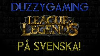 League of Legends - Caitlyn ADC - 900 SUBS! (Swedish)