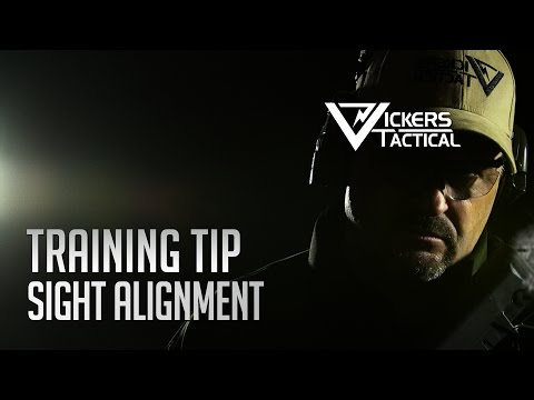 AIMPOINT TRAINING TIP - SIGHT ALIGNMENT