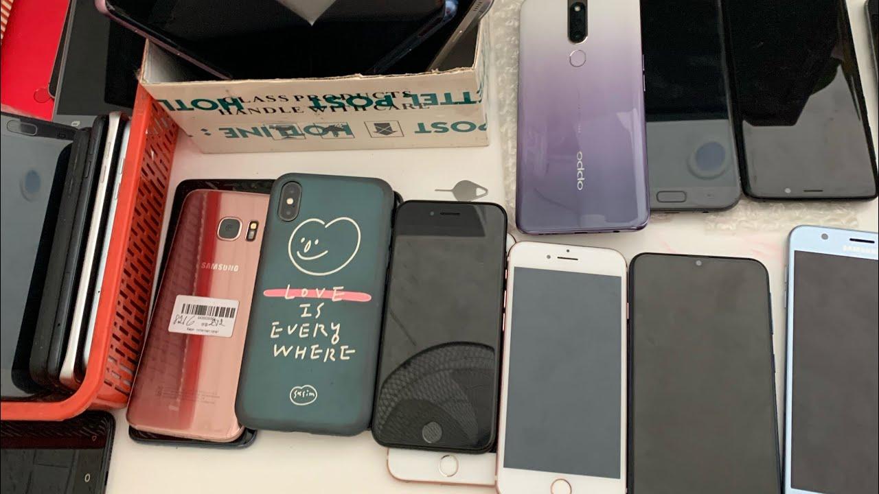 Điện thoại IPHONE cũ giá từ 300k 4s. Sam sung cũ zin pin khủng. Oppo F1s ngay 6/3/2020