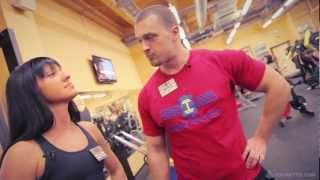 Тренировка мышц спины. Светлана Ерегина.