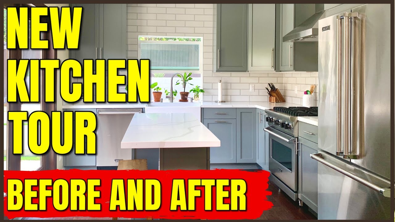 New Kitchen Remodel Tour - Before and After