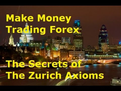 Make Money Trading Forex - Lessons from the Zurich Axioms for Profitable Trading