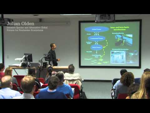 Julian Olden- Fish Diversity and Conservation Conference