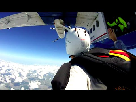 SkyDive Spaceland Houston A-License STP
