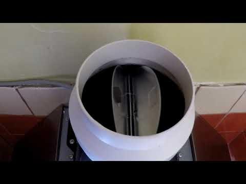 кухонная вытяжка  клапан естественной вентиляции