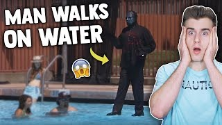 This Guy Can Walk On Water (But Is It Real?)