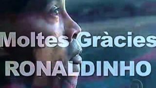 Homenagem do Barcelona a Ronaldinho Gaúcho - Globo Esporte HDTV