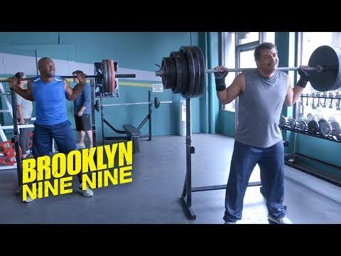 Neil deGrasse Tyson As A Gym Buddy | Brooklyn Nine-Nine