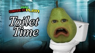 Pear FORCED to play - Toilet Time!